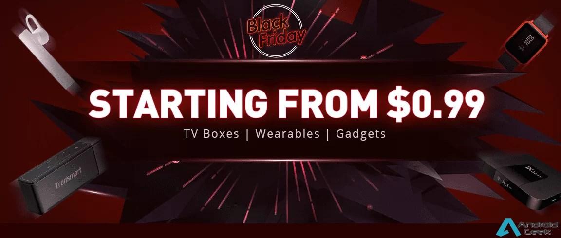 GeekBuying volta a surpreender com as suas promoções BlackFriday 2