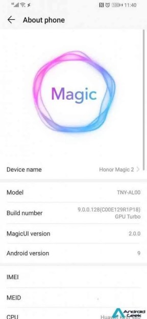 Honor Magic 2 é actualizado, substitui o EMUI 9.0 pelo Magic UI 2.0 1
