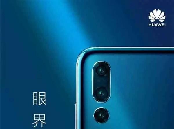 Flagship Huawei com câmaras quad, zoom óptico de 10x, chega em 2019 1