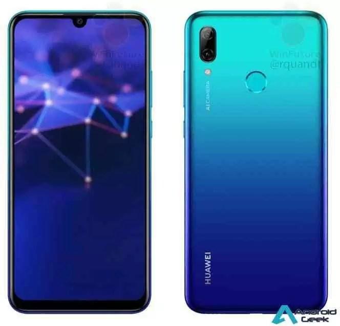 Huawei P Smart 2019 tem especificações e fotos reveladas on-line 2