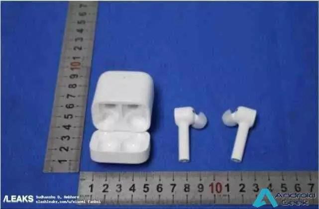 Imagens da FCC revelam os fones de ouvido Mi True Wireless da Xiaomi 4