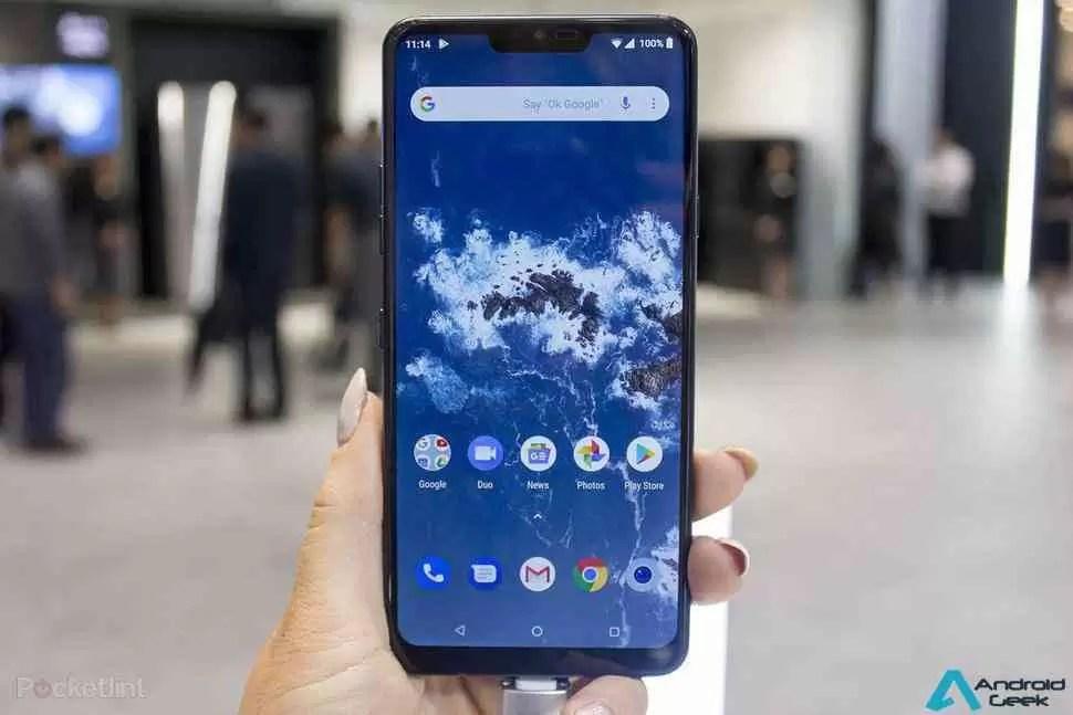 LG G7 One é o primeiro telefone da empresa a receber o Android 9 Pie 1