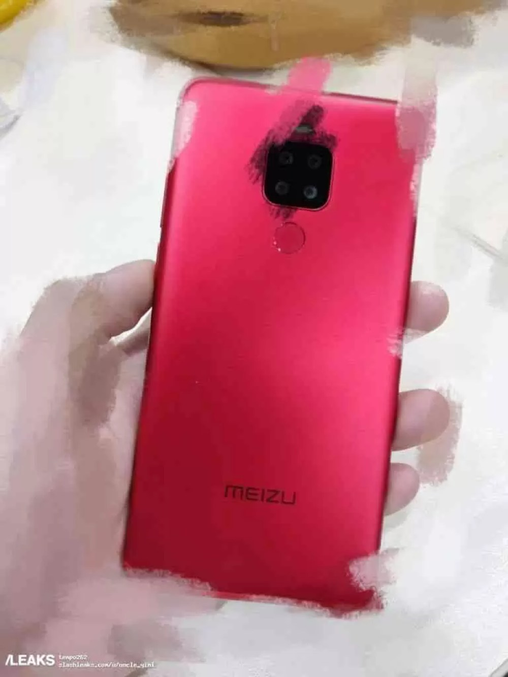 Meizu Note 8 Plus revelado em foto com quatro câmaras traseiras 1