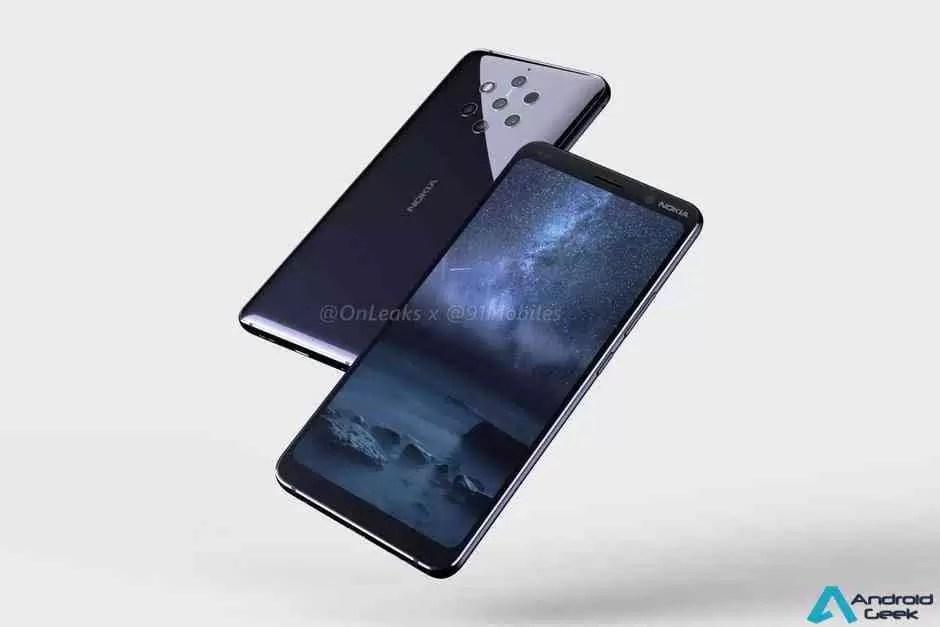 Render de capa Nokia 9 PureView confirma configuração da câmara penta 1