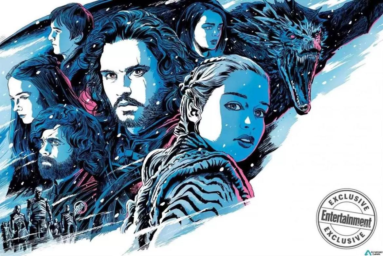 Publicadas foto e dados da última temporada de Game Of Thrones 1