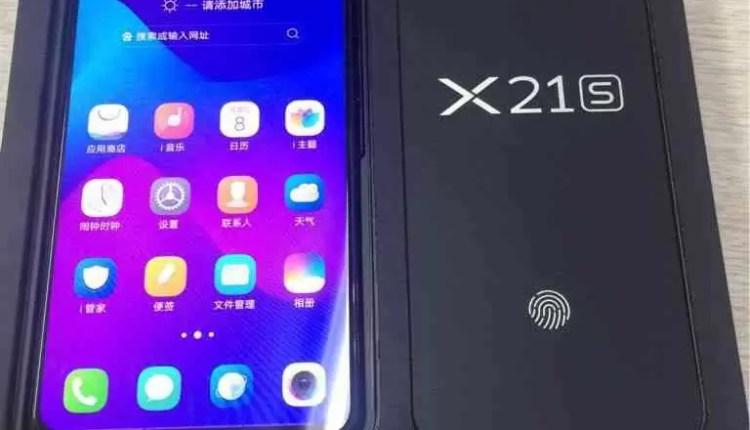 Fotos de unbox revelam o Vivo X21S com sensor de impressão digital no ecrã 3