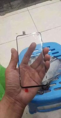 Suposto protetor S10 para display OLED
