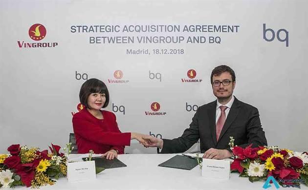 BQ une forças com o Vingroup que entra como sócio principal da empresa 2