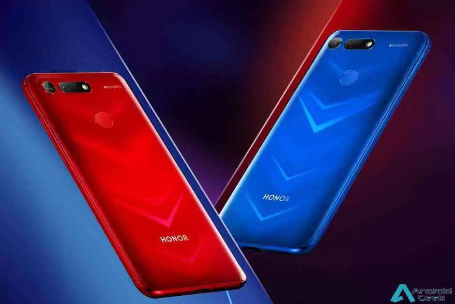 Honor View 20 oficialmente revelado como o primeiro smartphone do mundo a usar nanolitografia 3