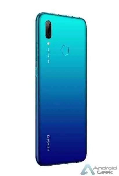 Huawei P Smart 2019 anunciado, tem um entalhe gota de água e Kirin 710 CPU 3