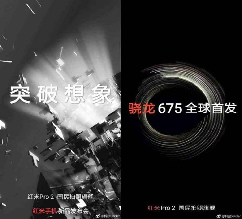 Imagens do Xiaomi Redmi Pro 2 com Snapdragon 675 e câmara de 48MP 1