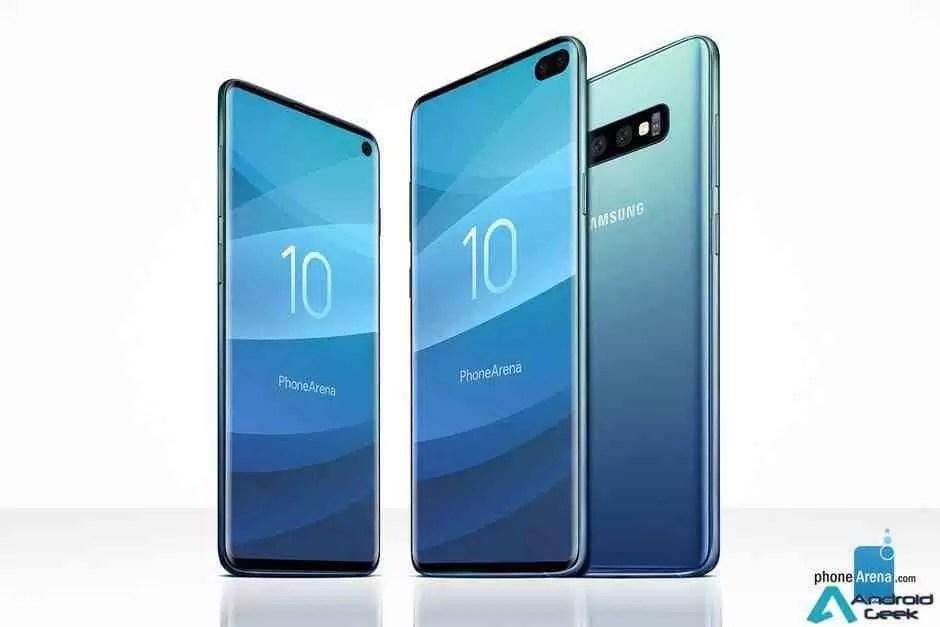 Samsung Galaxy S10 e S10 + aqui está o que precisam saber! 1