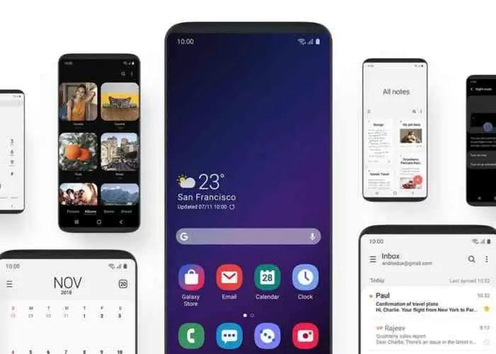 Samsung, um Ui