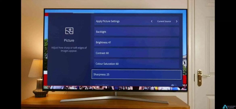 Análise Hisense de 55 polegadas Series 7 Smart TV 4K H55U7A 6