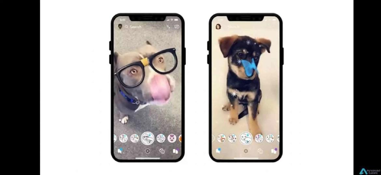 Snapchat já tem filtros para.. cães! Auff 1