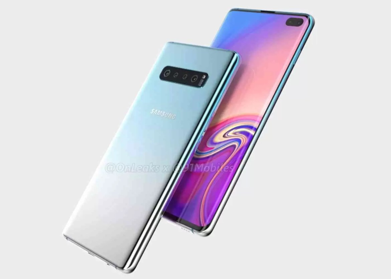 Design Samsung Galaxy S10