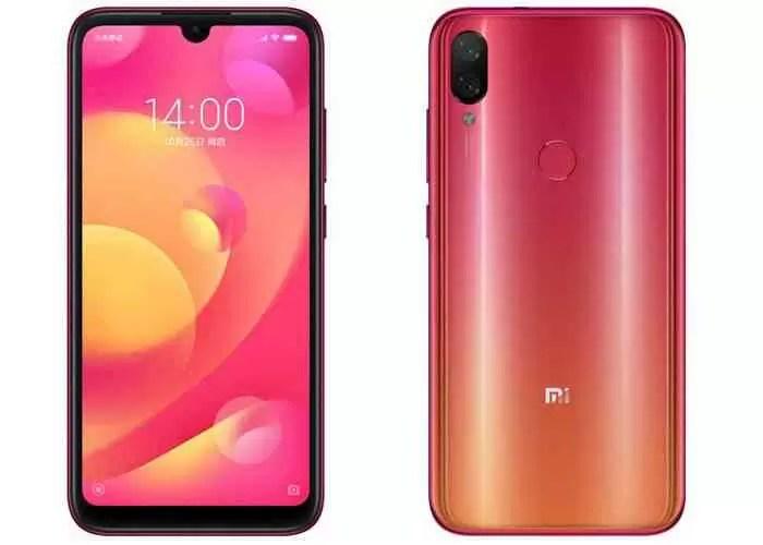 Xiaomi Play, cor vermelha oficial
