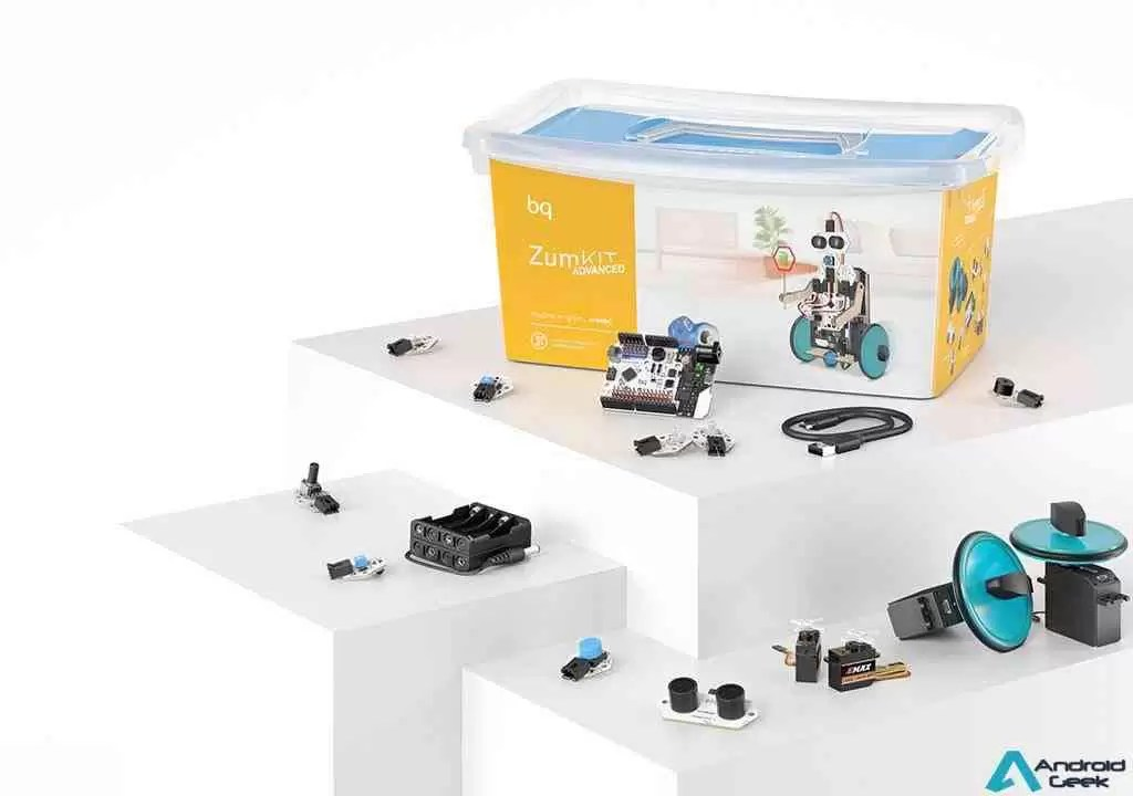 BQ tem Novos Kit de robótica: Zum Kit Junior e Advanced 4