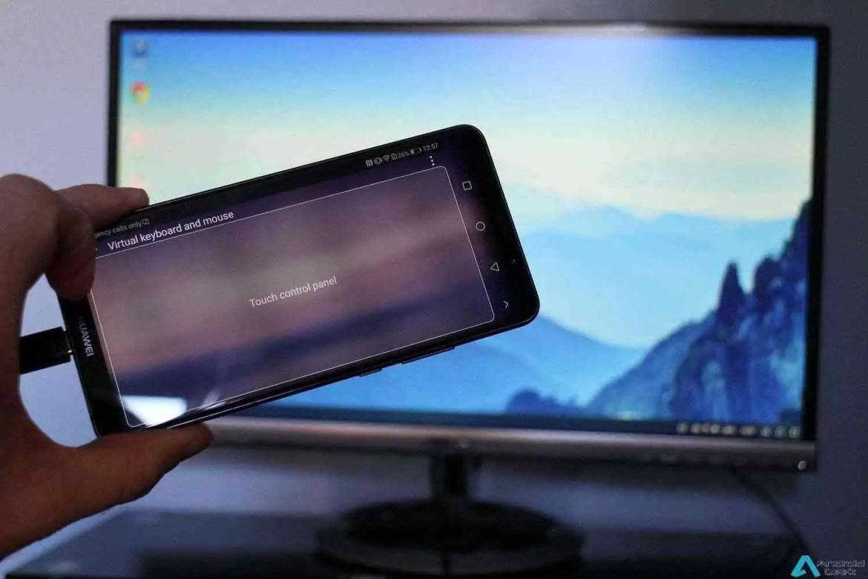 Análise Modo Desktop Huawei Mate 20 Pro 1
