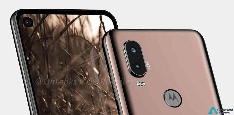 Motorola P40 aparece em Render e também vai ter um buraco no ecrã 1