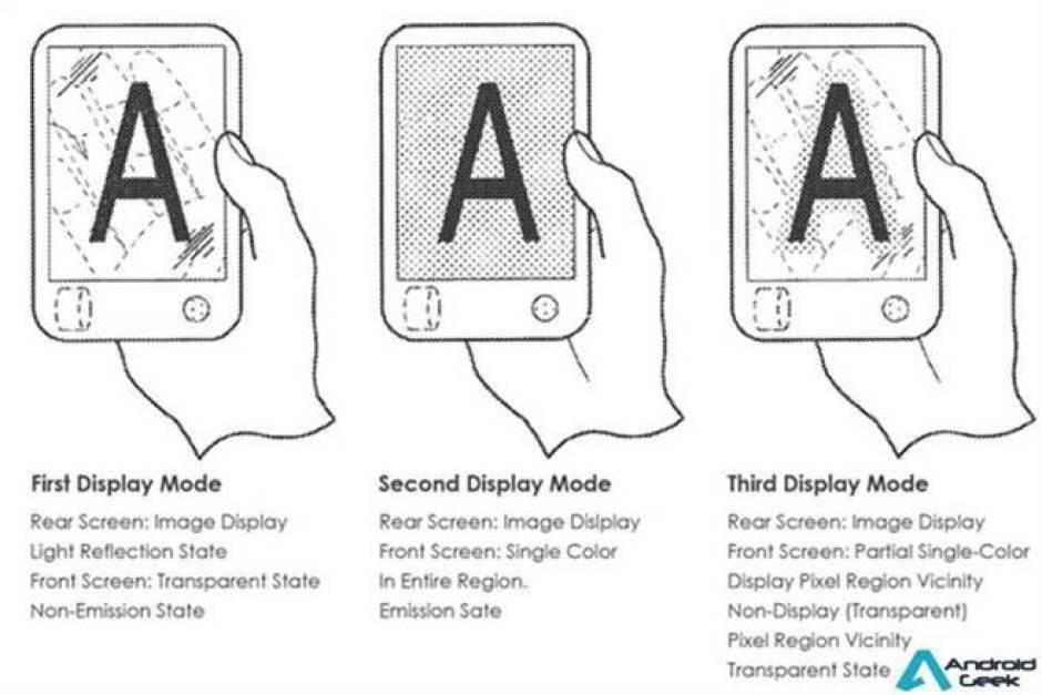 O smartphone dobrável da Sony pode ser.. transparente 4