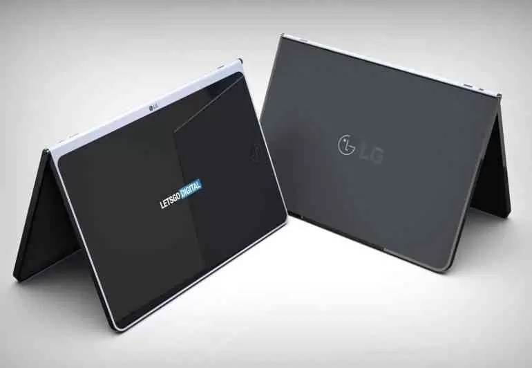 LG patenteou um novo tablet com capa e teclado sem fio 2