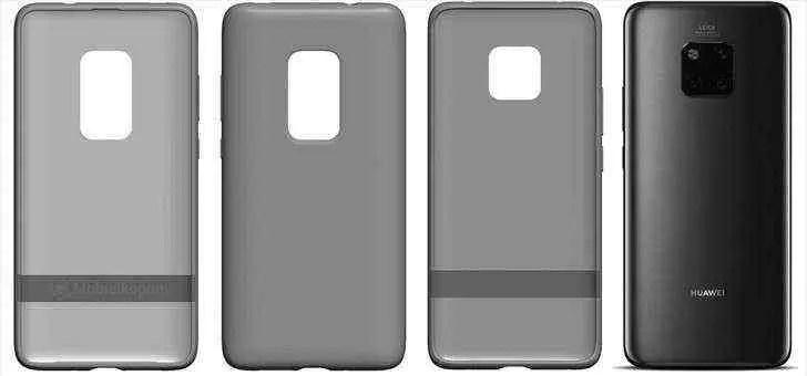 Patente da Huawei revela uma capa para o Mate 30 Pro com uma janela de câmera maior 2