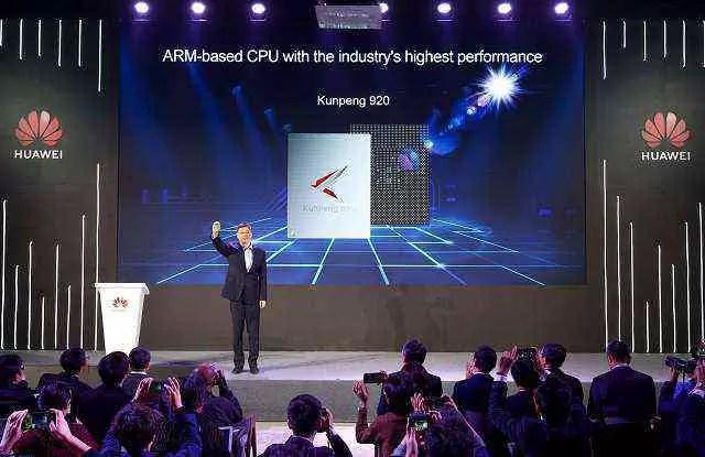 Huawei divulga CPU baseada em ARM de maior desempenho do setor, levando o poder de computação global para o próximo nível 1