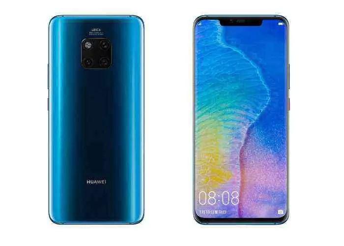 Cometa Azul: cores novas e espetaculares para o Huawei Mate 20 Pro
