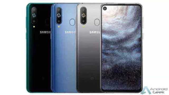 Samsung Galaxy A8s em breve nos mercados globais 1