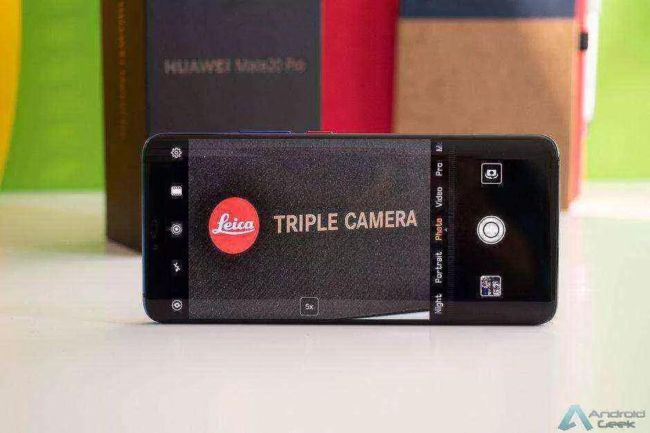 Huawei Mate 20 Pro recebe outra grande atualização de desbloqueio facial e câmara 1
