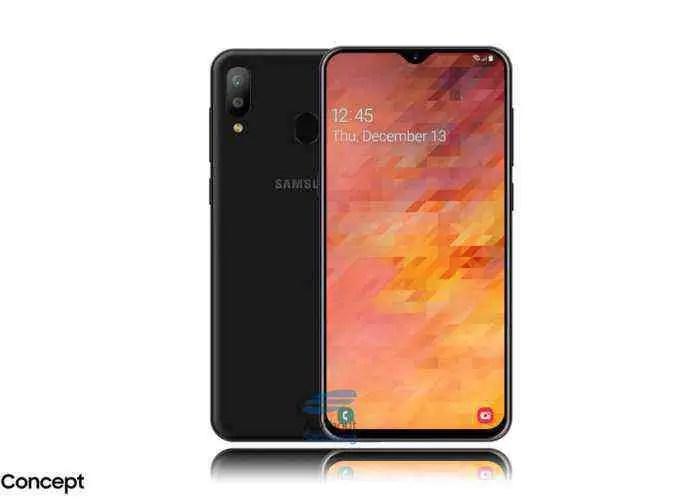 Samsung Galaxy M30, design