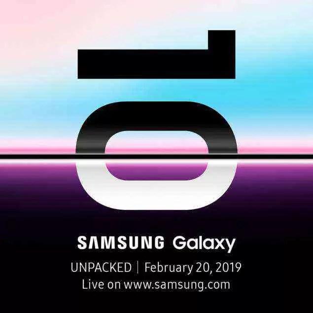 É oficial: Samsung lança o Galaxy S10 no evento Unpacked, em São Francisco, a 20 de fevereiro 1