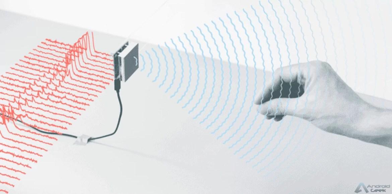Projecto Soli. Tecnologia baseada em radar do Google que pode permitir gestos no ar para navegar em telefones 2
