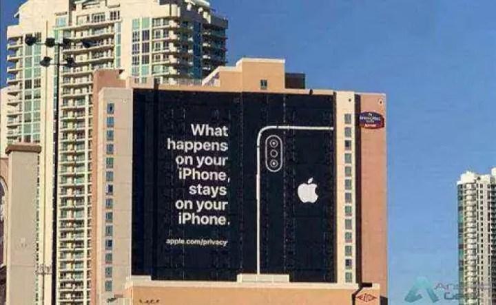 Apple publicou anúncio na CES para provocar o Android sobre a privacidade 1