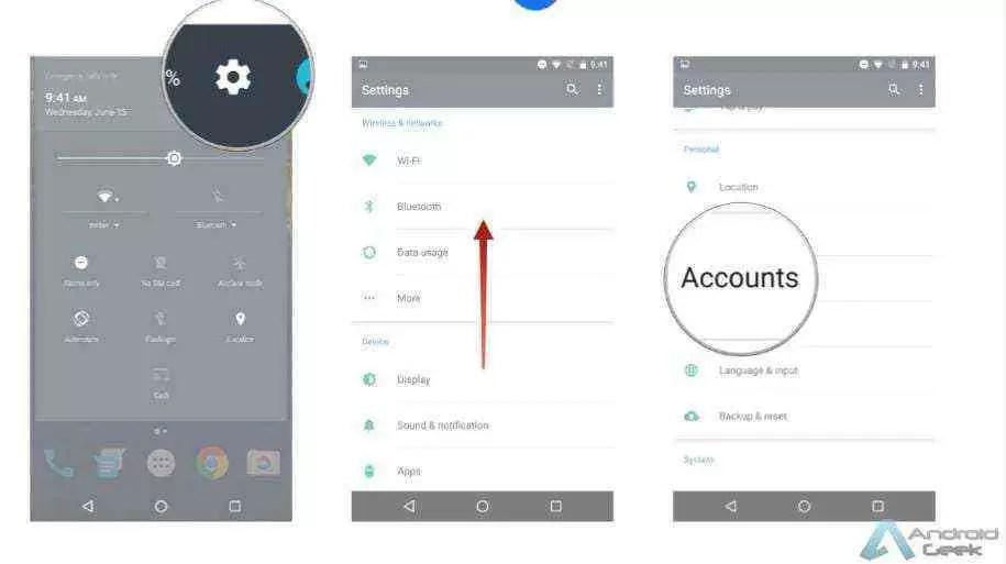 Como adicionar uma segunda conta Google no nosso Android 1