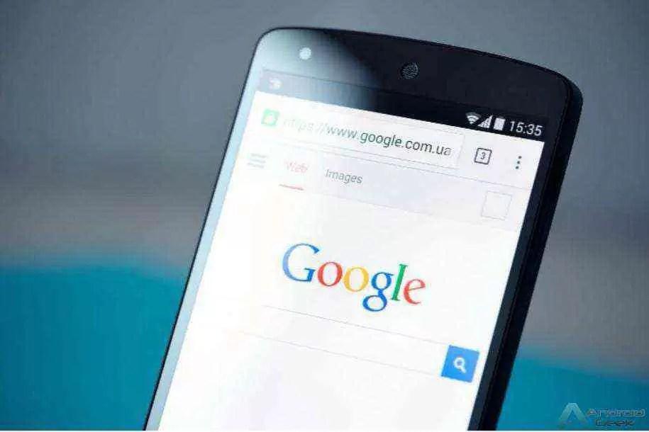 Como tornar o Google a página inicial no Chrome para Android 1