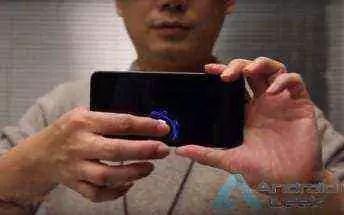 CEO da Xiaomi apresenta protótipo de smartphone com scanner de impressão digital de nova geração 1