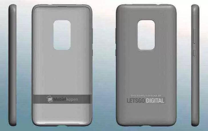 Patente da Huawei revela uma capa para o Mate 30 Pro com uma janela de câmara maior 1