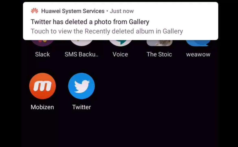 Smartphones Huawei na China estão a apagar imagens tiradas do Twitter 2