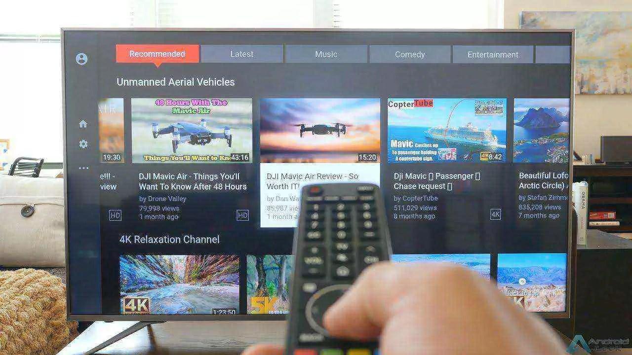 Análise Hisense de 55 polegadas Series 7 Smart TV 4K H55U7A 15