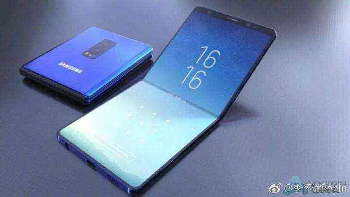 Telefone 5G dobrável Samsung pode chegar antes do da Huawei 2