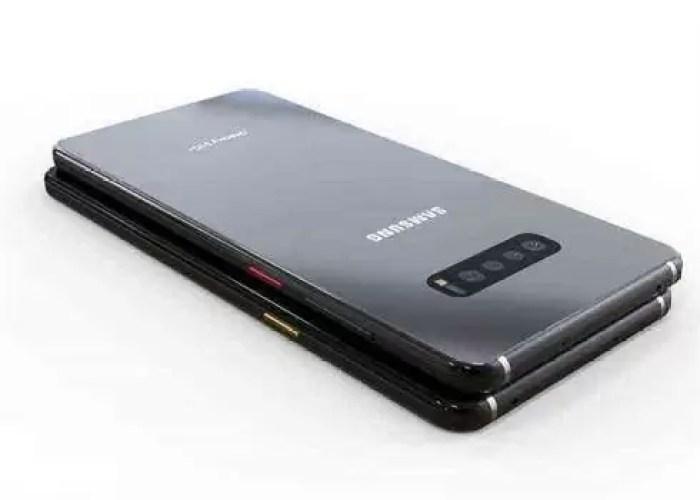 designer criou um projeto no Behance com um conceito de design do Samsung Galaxy S10