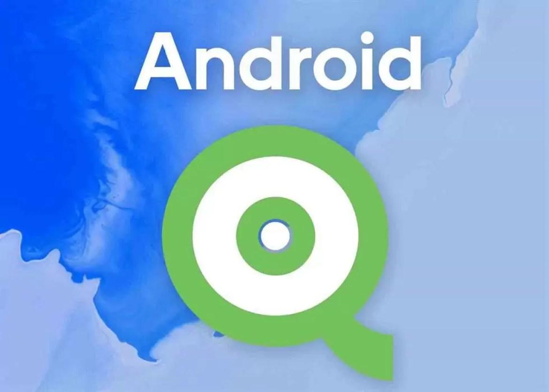 Android Q, imagem em destaque