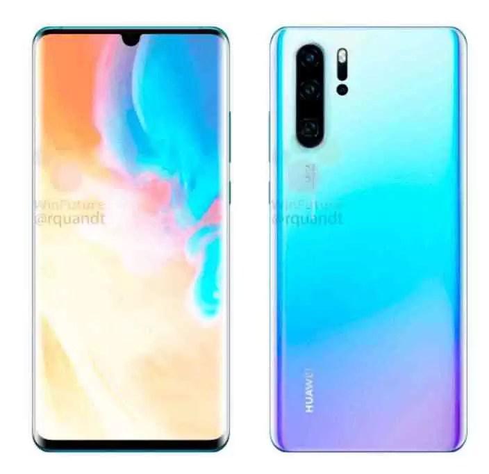 O Huawei P30 e P30 Pro aparecem em imagens oficiais 1