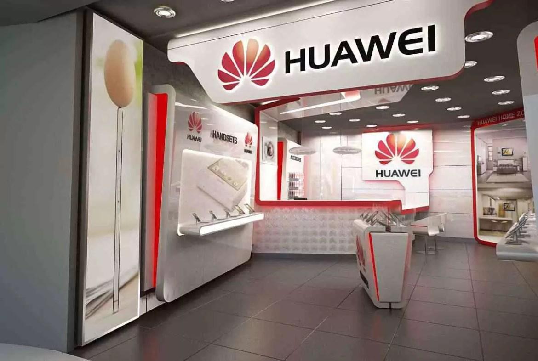 logotipo da huawei-store