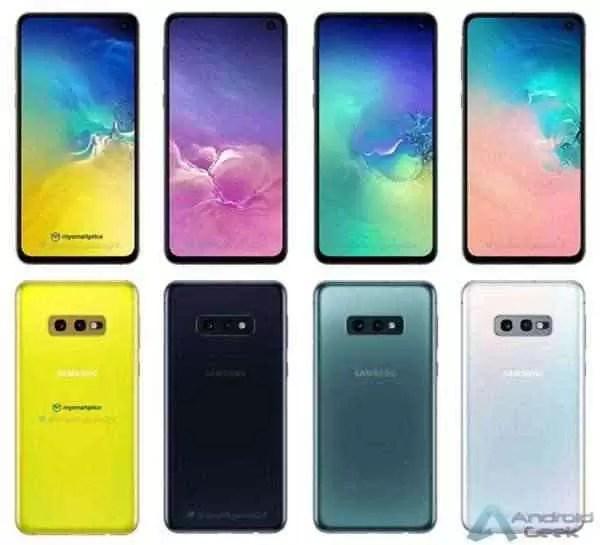 Samsung Galaxy S10 - opções de cores reveladas 2