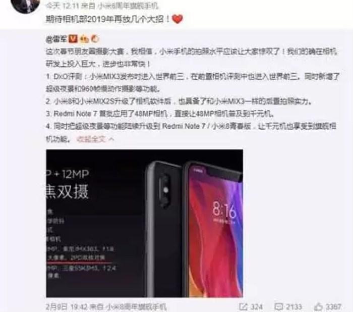 Câmaras Xiaomi