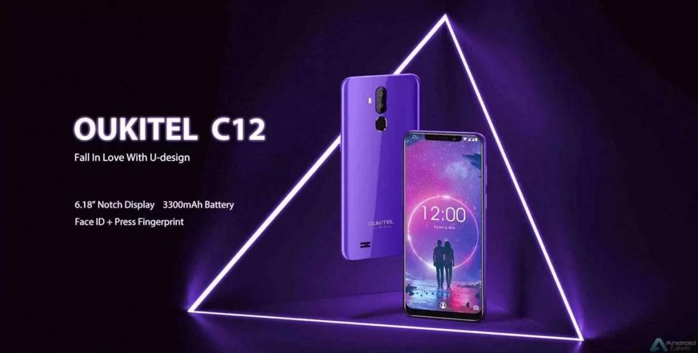 A versão C12 do OUKITEL C12 Pro 3G é lançada com display de entalhe e preço impressionante 1