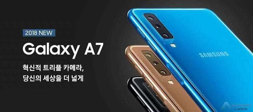 Galaxy A7 (2018) visto no Geekbench com Android Pie 1